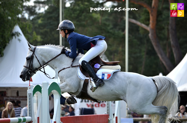 Megane Moissonier et Jimmerdor de Florys SL - ph. Poney As