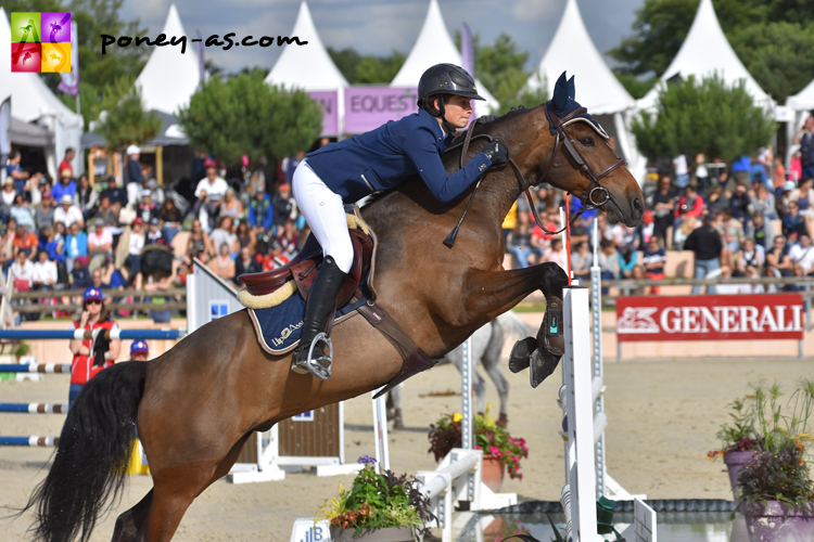 Jeanne Sadran et Ungaro of Qofanny - ph. Poney As