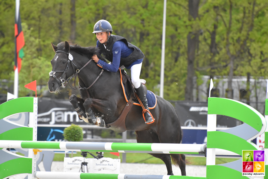 Arthur Delplace et Tralala des Salines - ph. Poney As