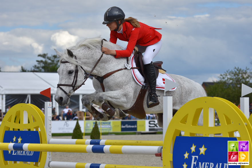 Laura Baaring Kjaergaard et Goliath van de Groenweg SL - ph. Poney As