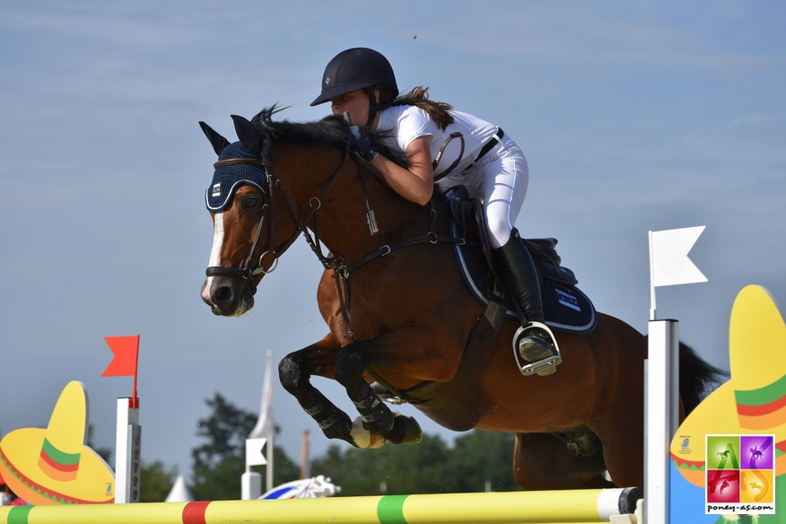 Charlotte Lebas et Quabar des Monceaux - ph. Poney As
