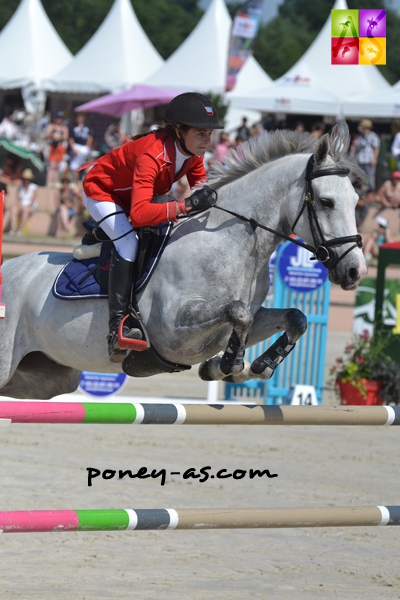 Justine Maerte & Shamrock du Gite - ph. Poney As