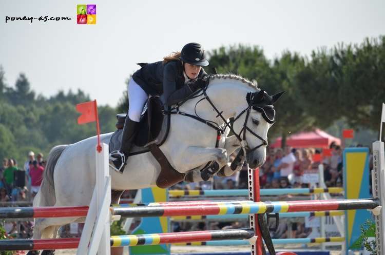 Louise Tachet et Rexter d'Or - ph. Poney As