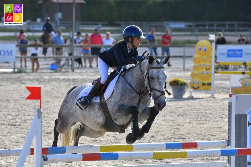 Baluche de la Bauche finale des 7 ans sologn'pony