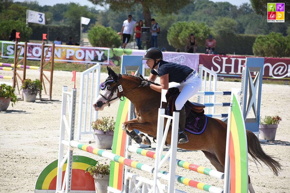 Divna d'Alfabel au Sologn'Pony championne 4 ans C